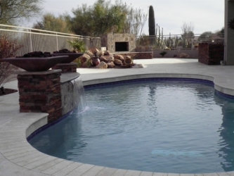 Arizona Backyard Landscape