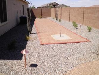Arizona Landscape Backyard Play Area