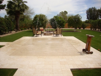 Arizona Landscape Design Play Area