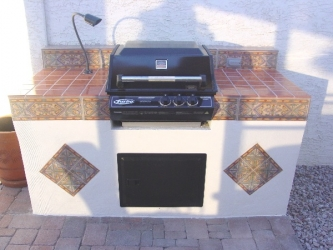 backyard designs arizona bbq kitchen