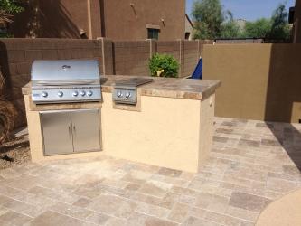 Phoenix Landscape Design Patio BBQ