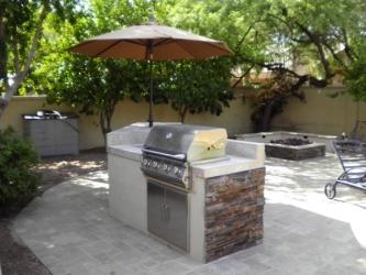 arizona landscape design BBQ