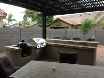Gilbert Landscape Design Backyard BBQ