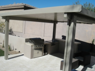 Scottsdale Landscape Outdoor Kitchen