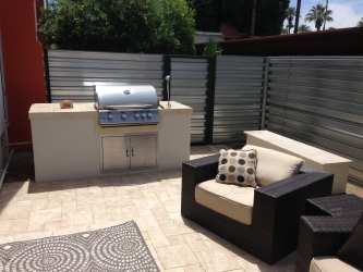 Phoenix Landscape Design Patio BBQ