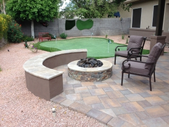 Gilbert Landscape Design Fire Pit