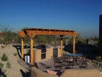 Arizona Backyard Designs Pergola