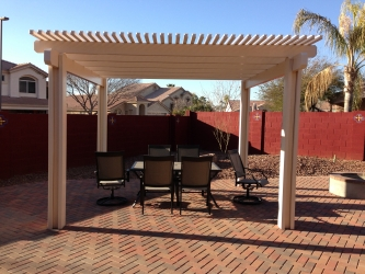 Arizona Landscape Design Pergola