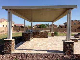 Phoenix Backyard Landscape Ramada