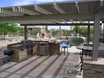 Backyard Design Arizona Pergola