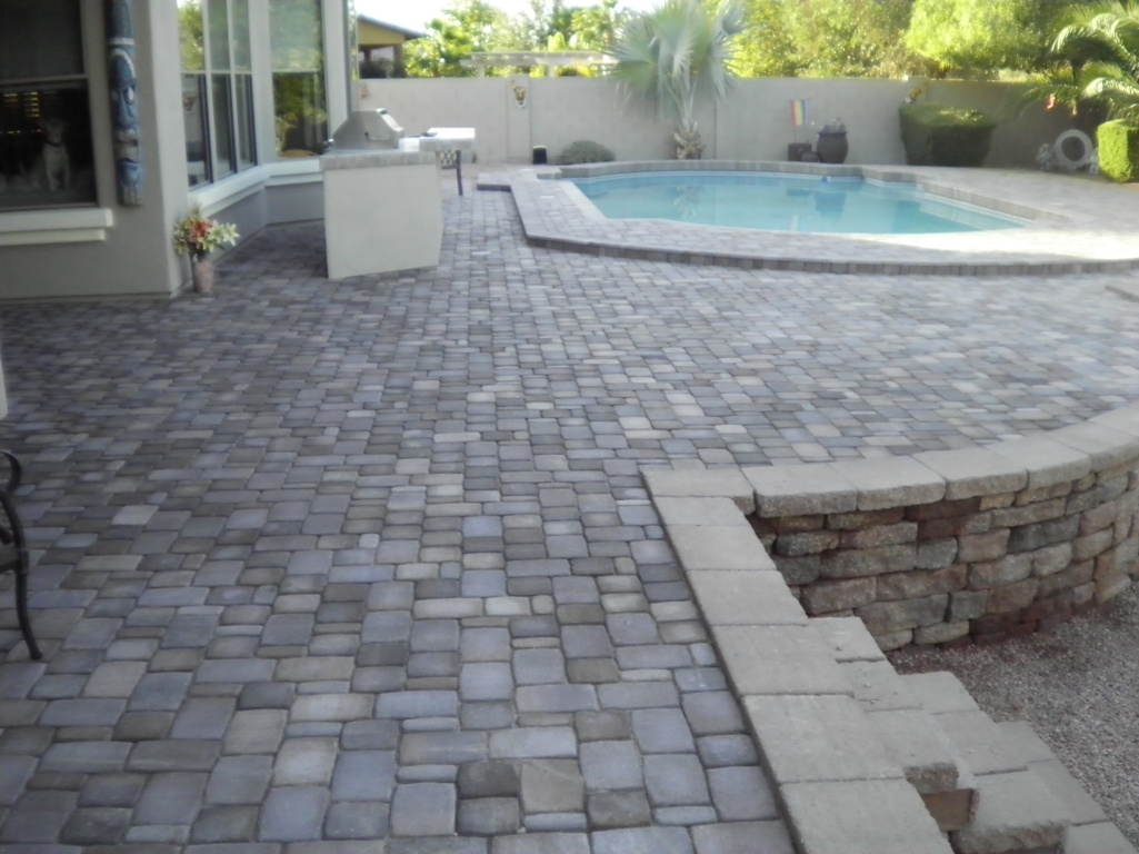 Pavers Flagstone And Tile Dream Retreats Landscape Design