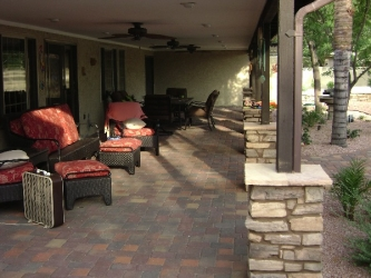 Scottsdale Landscape Design Patio Pavers