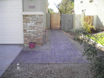Arizona Landscape Design Landscape Block Pavers