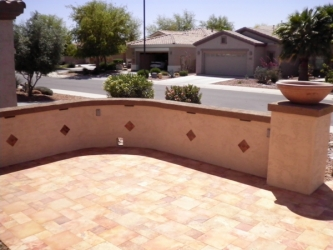 Arizona Landscape Design Artistic Pavers