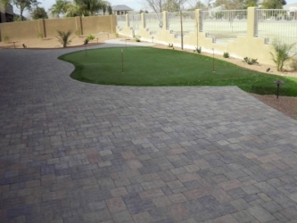 Arizona Landscape Design Paver Patio