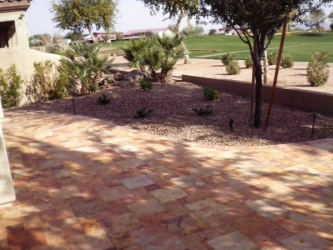 Gilbert Landscaping Thin Overlay Pavers