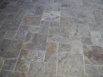 Overlay Travertine Pavers