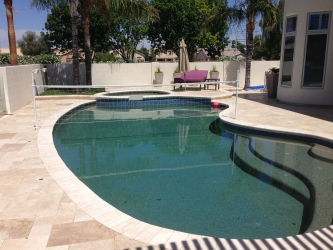 Gilbert Landscaping Pool Deck