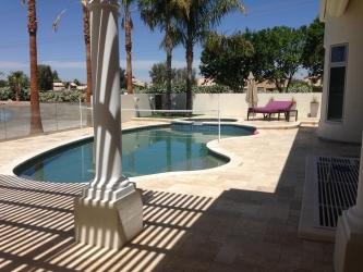 Gilbert Landscape Design Pool Deck