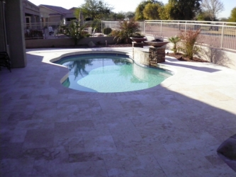 Gilbert Landscape Design Pool Deck Pavers