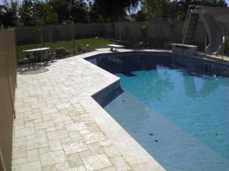 Scottsdale Landscape Marbella Paver Pool Deck