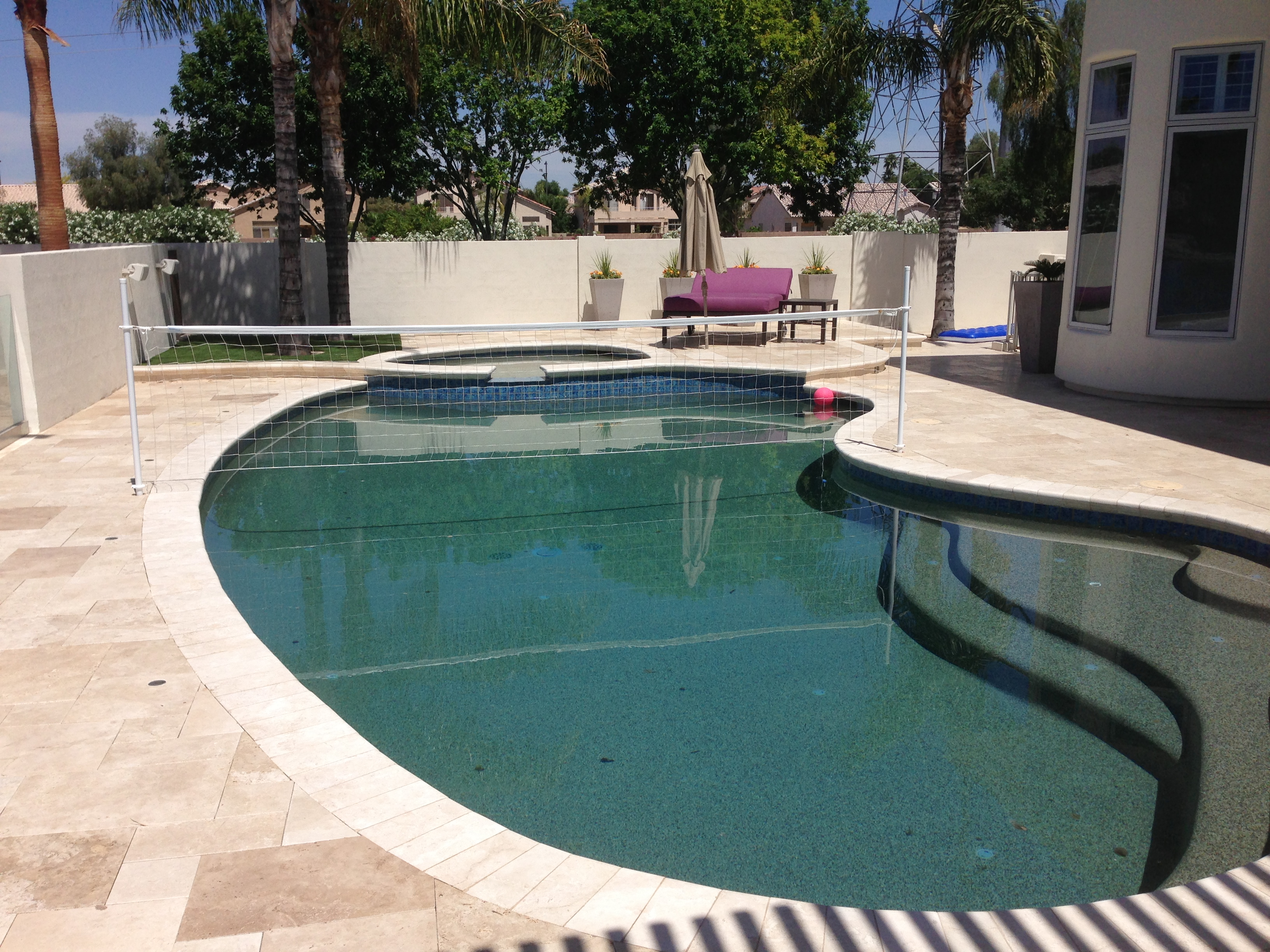 Pool decks portfolio for Pool deck landscaping