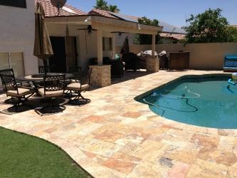 Phoenix Landscape Paver Pool Deck