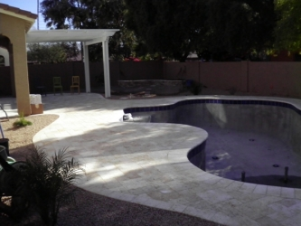 Backyard Design Arizona Pool Deck Pavers