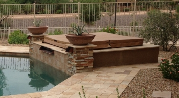 Chandler Landscape Design Spa Wrap