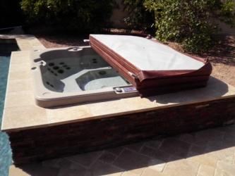 Backyard Designs Arizona Spa Wrap