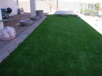 Arizona Landscape Design Synthetic Grass
