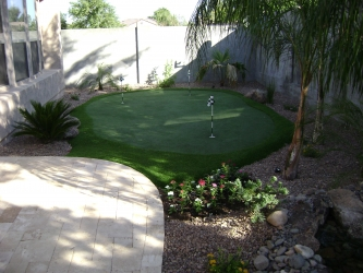 Backyard Design Arizona Putting Green
