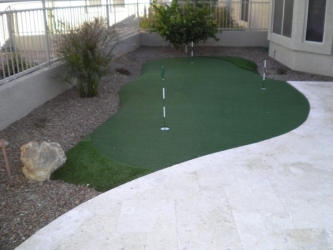 Gilbert Landscape Design Putting Green