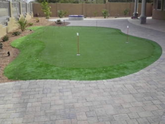 Gilbert Landscape Design Backyard Putting Green