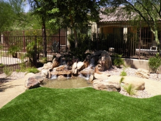Backyard Landscape Design Water Feature