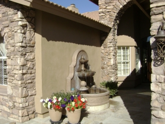 Gilbert Landscape Design Water Fountain