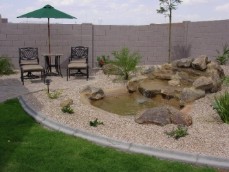 Backyard Design Arizona Waterfall