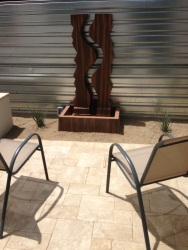 Phoenix Landscape Design Water Feature
