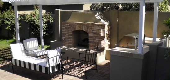 Phoenix Landscape Design Fireplace