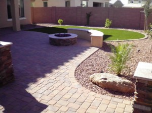 Arizona backyard landscapes
