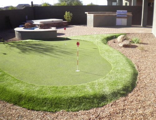 Custom Outdoor Putting Green