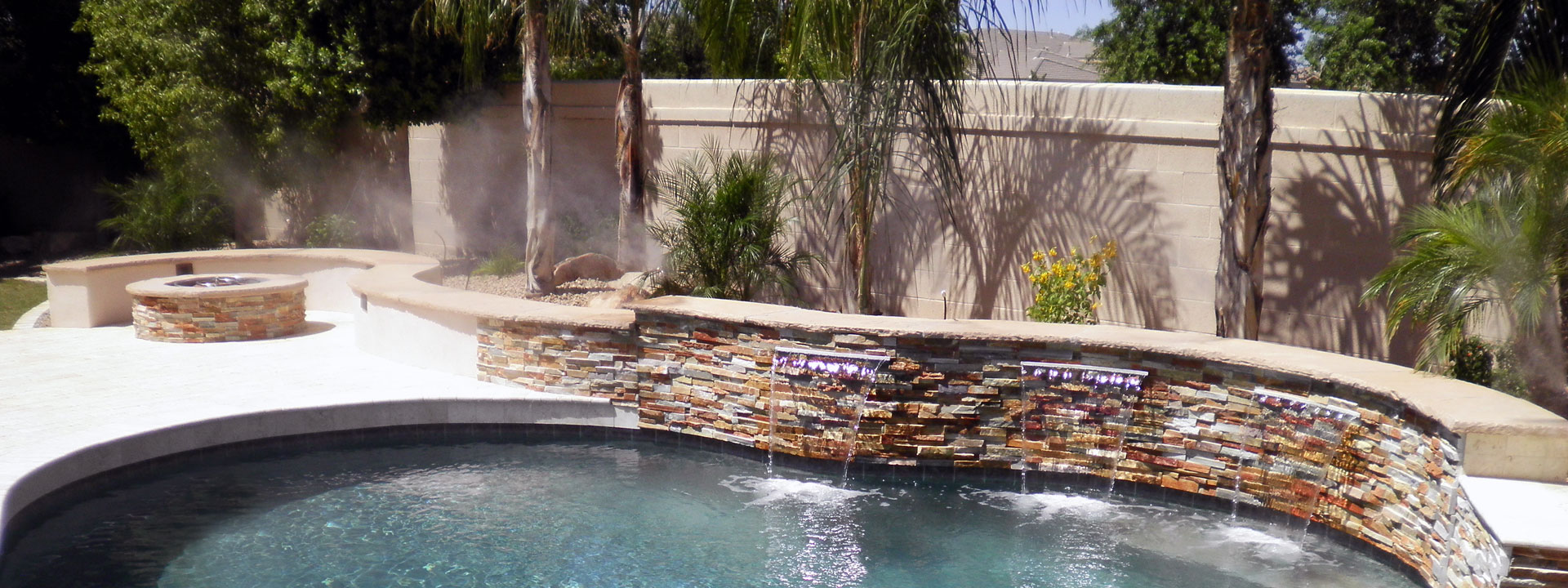 Poolside plants for arizona landscape design for Pool design az