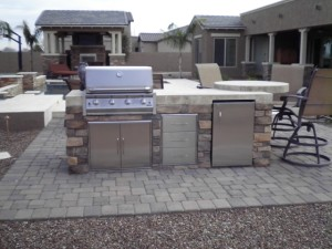 GIlbert Landscape Design Outdoor Kitchen