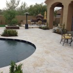 Scottsdale Backyard Landscape Renovation Paver Patios