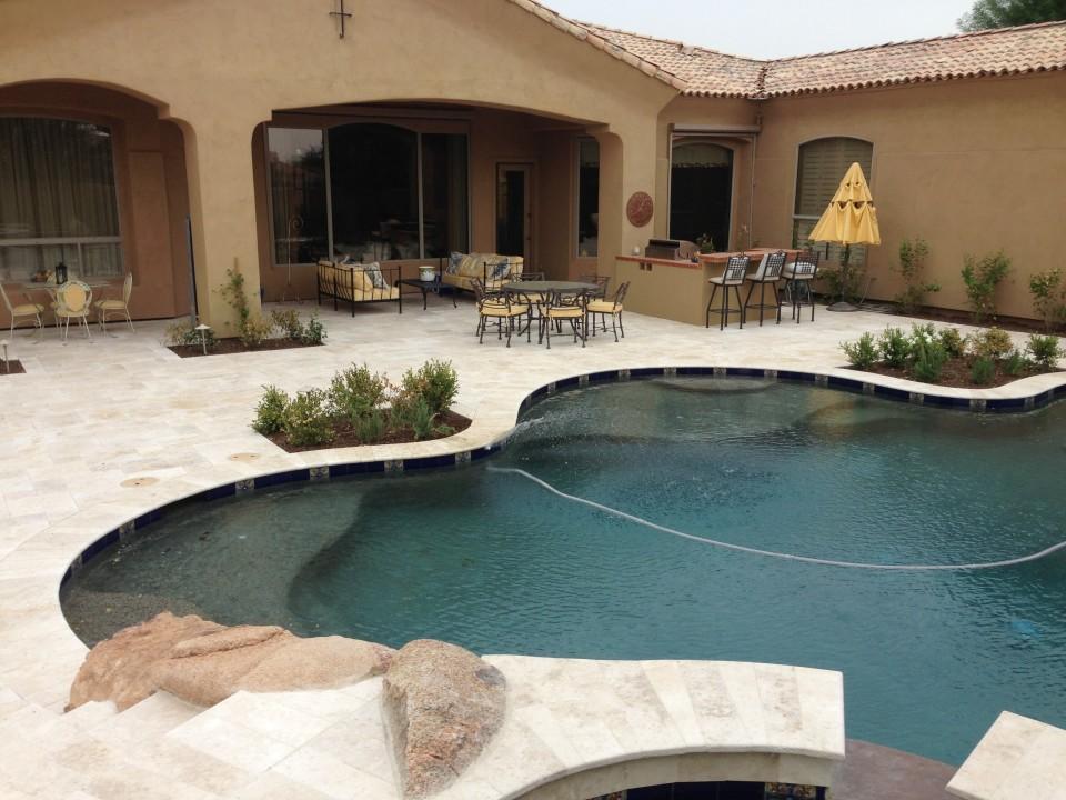Scottsdale Backyard Landscape Renovation