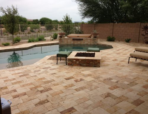 Entertain & Relax In This Chandler Landscape Design