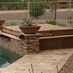 Chandler landscape patio spa