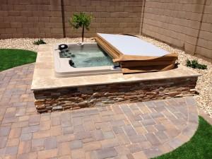 Phoenix Landscape Design Spa