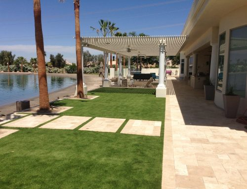 Gilbert Landscape Renovation At Water Ski Neighborhood