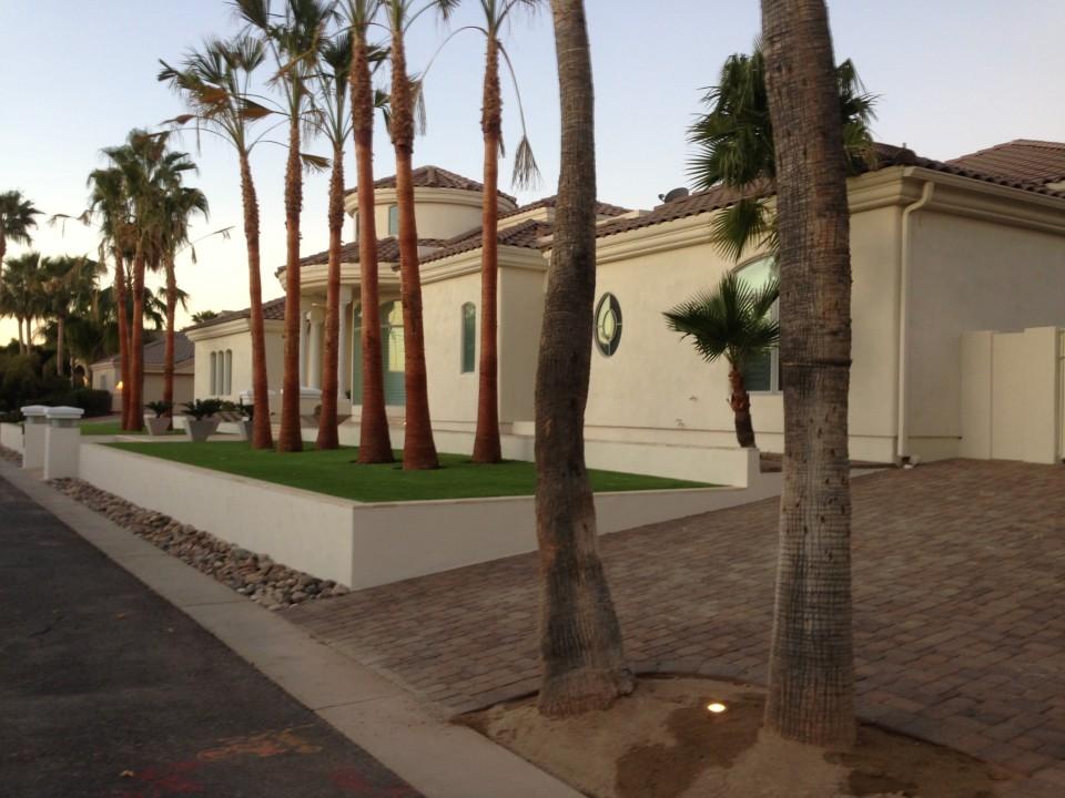 Gilbert Landscape Design Frontyard